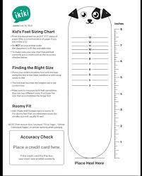 Ikiki Shoes Size Chart Ikiki Shoes Mr Barkles Babies Kids Babies Apparel On