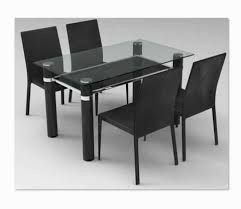 dining room table and chairs with wheels. Calista Dining Table \u0026 4 Chairs - Black Room And With Wheels S