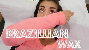 MY FIRST BRAZILIAN WAX YouTube