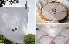 See more ideas about handkerchief, hanky, oilton. Diy Embroidered Handkerchiefs