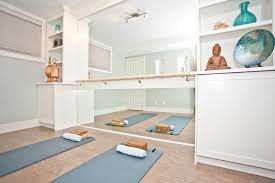Small Picture Luxury Yoga roomjpg Fitness Pinterest Wall yoga Ballet bar