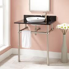 30 casey art deco semi recessed console sink