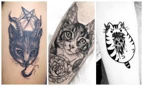 тату кошка значение для девушек и мужчин Tattooassist