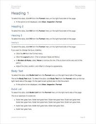 User Guide Template Apple Iwork Pages Templates Forms