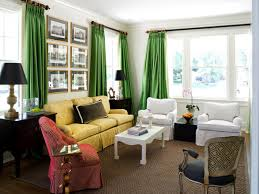Window Coverings Living Room Light And Bright Window Treatments Hgtvs Decorating Design