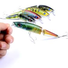 2019 New Ps Painted Laser Minnow Jointed Fishing Bait 14cm 21 7g 3d Eyes Deep Diving 2 Segements Artificial Lure Fishing Tackle From Viblure 33 29