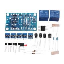5pcs audio speaker protection board amplifier components dc protect kit diy cod
