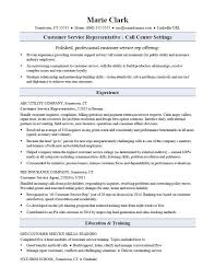 Resume For Customer Service Representative Interesting Customer Service Specialist Skills Customer Service Skills Resume