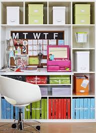 colorful home office. Courtesy: Pinterest Colorful Home Office