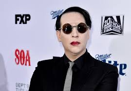 marilyn manson is unrecognizable without makeup photos facebook twitter google share premiere screening of fx s sons of anarchy