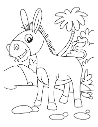 Small Picture Seaside donkey coloring page Download Free Seaside donkey