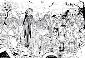 Free Halloween Printable Coloring Pages Full Size Of Printable