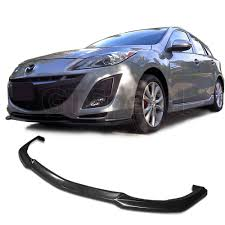 Amazon.com: NEW - 10-11 MAZDA 3 4/5Door MAZDASPEED Style PU Front ...