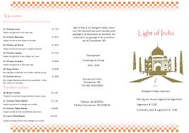 Light Of India Enschede Menukaart Light Of India Enschede Eet Nu