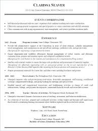 Event Planner Resume Examples Resume Example