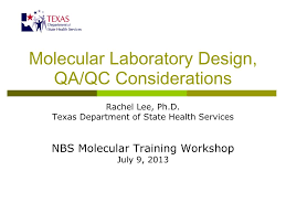 Designing Of Microbiology Laboratory Ppt Ppt Molecular Laboratory Design Qa Qc Considerations