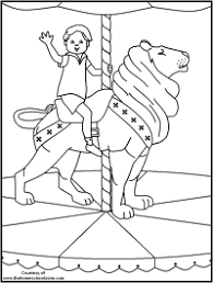 Carnival Games Pages Coloring Pages