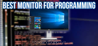 best size monitor for gaming best monitor for programming 2018 coding supply