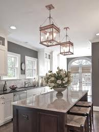 elegant cabinets lighting kitchen. This Is Such An Elegant Kitchen, With The Unexpected Gray Walls. Try  Benjamin Moore Tweed Coat Www. By Carolina Design Associates, LLC Cabinets Lighting Kitchen K