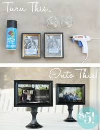 dollar tree frames and wall stickers
