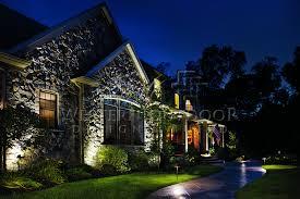 western outdoor low voltage outdoor landscape lighting back