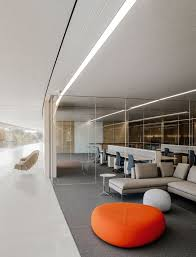Furniture office workspace cool macbook air Remote Inside Apples Cupertino Headquarters One Of The Many Workspace Configurations And Eero Saarinen womb Jony Ive On Apple Park And His Unique Minimalist W Cover