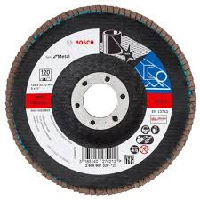 Лепестковый <b>шлифкруг Bosch</b> X571 Best for Metal <b>125 мм K120</b>