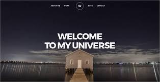 Portfolio Website Templates Classy 28 Portfolio Website Themes Templates Free Premium Templates