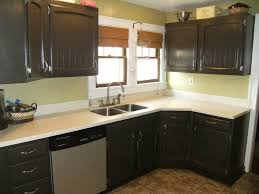diy painted black kitchen cabinets. Painted Black Kitchen Cabinets Before And After Diy