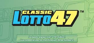 Michigan Lottery Frequency Chart Jackpot For Classic Lotto 47