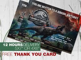 Jurassic Park Invitations Jurassic World Birthday Invitations Best Of Sweet Pea