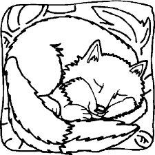 Small Picture Coloring Page Fox animals coloring pages 4