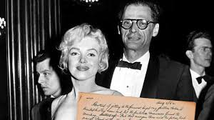 why i missed marilyn monroe s funeral by arthur miller news  arthur miller s archive including an essay about his ex wife marilyn monroe