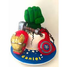 Avengers Birthday Cake 5 Kg New Age Marvel Series Avenger Cake For