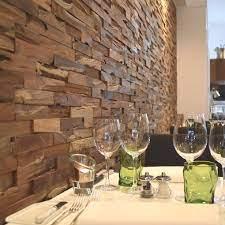 decorative wood cladding natural wood