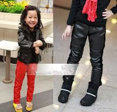 girls casual pants fashion leather pants girls leggings cotton pants girls bootcut skinny mewol 155 jeans pants for boys boys white cargo pants from mewol