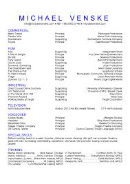 film acting resume 136tv film partial listing host best take d contains sample film production assistant resume example film resume
