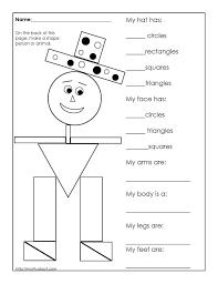 Unusual D Shapes Free Worksheets For Kids Printables Shapes ...