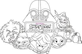 Small Picture Printable Angry Birds Star Wars Coloring Pages Es Coloring Pages