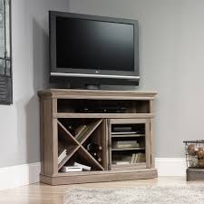 Corner Entertainment Shelves Barrister Lane Corner TV Stand 100 Sauder 2