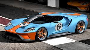This is the new Ford GT in Gulf livery   Top Gear