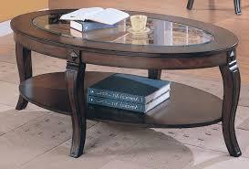 creative oval glass coffee table ing oval glass coffee