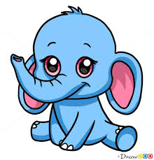 Baby Elephant Drawings Ravishing Cute Baby Elephant Drawings How To Draw Anime Clipart
