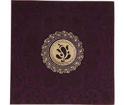 buy indian wedding invitation in purple satin with laser cut Wedding Invitation Ganesh Pictures wedding invitation in purple satin with laser cut ganesha Ganesh Invitation Blank