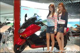 miss jintana udomsup executive director of thai yamaha motor co ltd saids thai yamaha plans to open big bike market in thailand and begin selling in