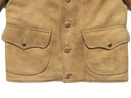 売り切り 1 000 超レア名作 rrl walker deerskin jacket ディアスキン レザー