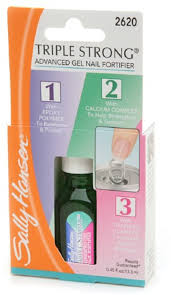 <b>Sally Hansen Triple</b> Strong Advanced Gel Nail Fortifier, [2620], 0.45 ...