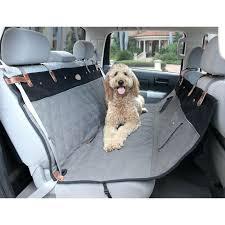 hammock car seat cover premium quilted pet hammock seat cover grey animal planet hammock style car