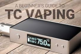 Vape Temp Chart A Beginners Guide To Vaping With Temperature Control 2018