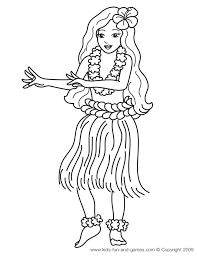 Small Picture luau coloring pages HulaLuau Pinterest Luau Hawaiian and